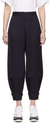 Stella McCartney Navy Classic Tailoring Trousers