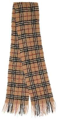 Burberry Wool-Blend Nova Check Scarf
