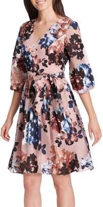 Vince Camuto Floral Burnout Dress