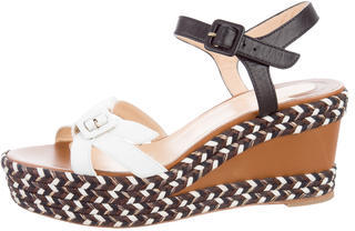 Christian Louboutin  Christian Louboutin Lagoa Wedge Sandals