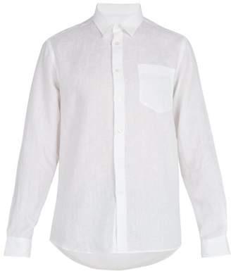 Vilebrequin Linen Shirt - Mens - White