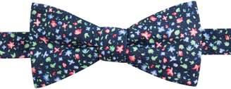 Chaps Men's Hazel Floral Linen Pre-Tied Bow Tie