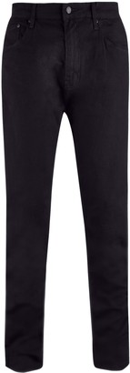 Mens Big & Tall Black Carter Tapered Fit Jeans