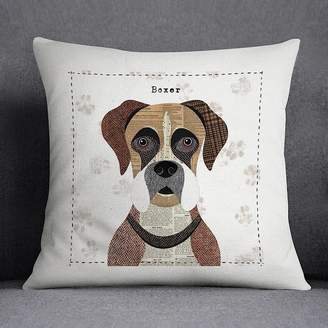 Simon Hart Boxer Dog Personalised Cushion Cover