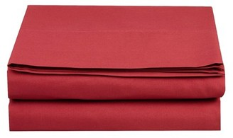 Elegant Comfort 1500 TC Fitted Sheet, California King Size, Burgundy
