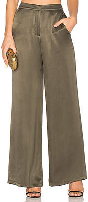House of Harlow 1960 x REVOLVE Mona Pant in Olive $130 thestylecure.com