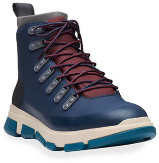 Swims Men's City Leather Hiker Boots