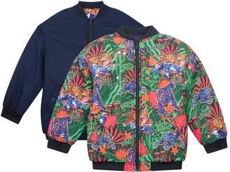 Kenzo Edwina Fantastic Tiger Reversible Coat