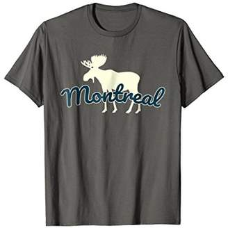 Montreal Moose T-Shirt - Souvenir or Vacation Gift