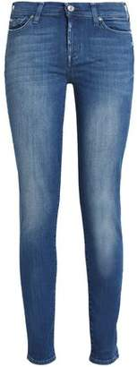 7 For All Mankind Mid-Rise Skinny Jeans