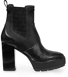MICHAEL Michael Kors Women's Cramer Platform Leather Booties