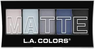 L.A. Colors Matte Eyeshadow - Blue Denim