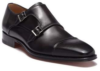 Magnanni Silvio Leather Monk Strap Derby
