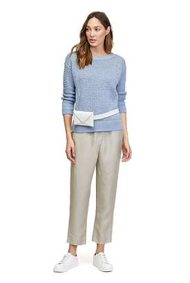 Country Road Mesh Boat Neck Knit