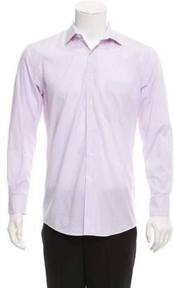 Barneys New York Barney's New York Plaid Button-Up Shirt