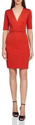 Reiss Rebecca Twist-Front Dress