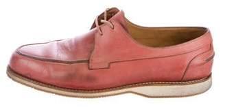 John Lobb Leather Boat Shoes