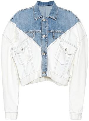 Unravel Cropped denim jacket