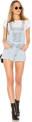 Off-White Denim Shorts Overall