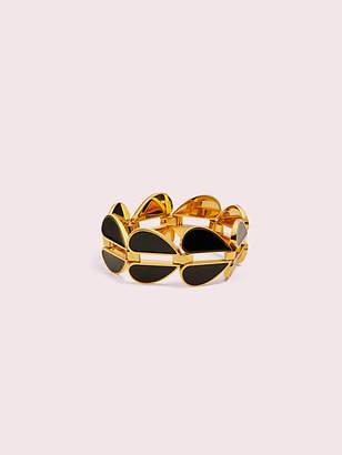 Kate Spade Heritage Spade Heart Link Bracelet, Black