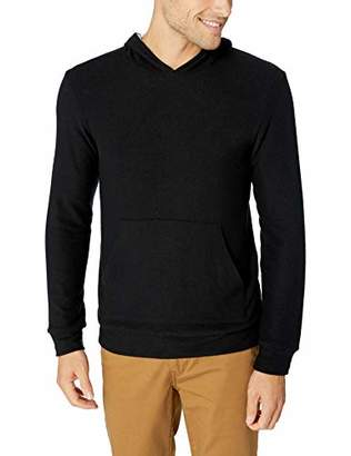Velvet by Graham & Spencer Reid Men's Reversible Hoodie in Cozy Jersey