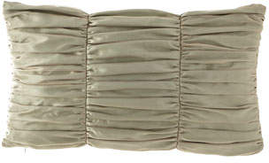 Dian Austin Couture Home Petit Trianon Ruched Oblong Pillow