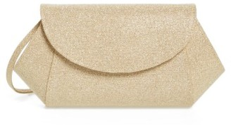 Nina 'Amitee' Metallic Clutch - Metallic $52 thestylecure.com