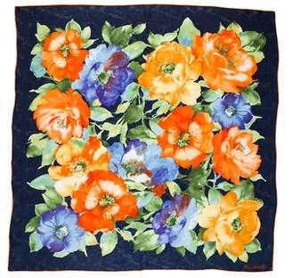 Lauren Ralph Lauren Silk Floral Scarf