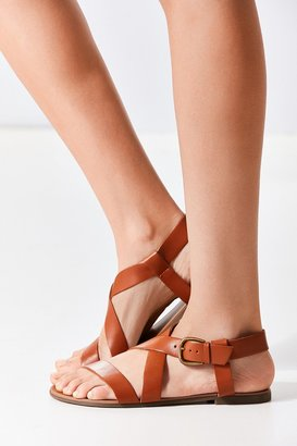 Urban Outfitters Maddie Leather Sandal $39 thestylecure.com