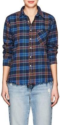 NSF Women's Plaid Cotton Shirt