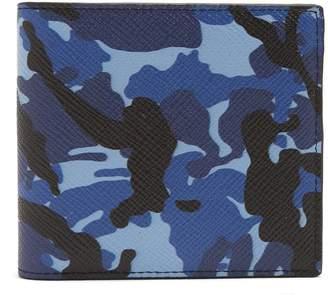 Smythson Burlington grained-leather bi-fold wallet