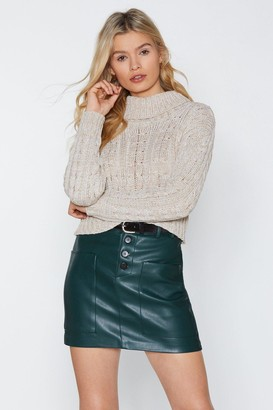 Nasty Gal Fall Up Knit Sweater