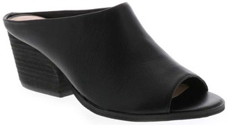 Sbicca Leather Open Toe Slides - Jerome