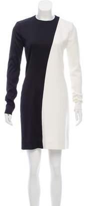 Celine Colorblock Mini Dress