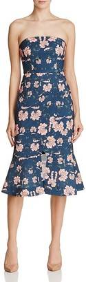 Keepsake Celestial Strapless Dress $210 thestylecure.com