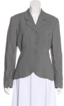Armani Collezioni Structured Notch Lapel Blazer