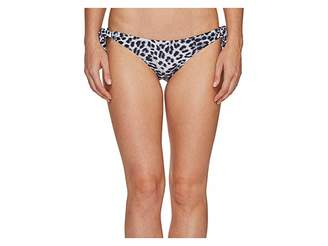 Vince Camuto Animal Side Tie Bikini Bottom Women's Swimwear