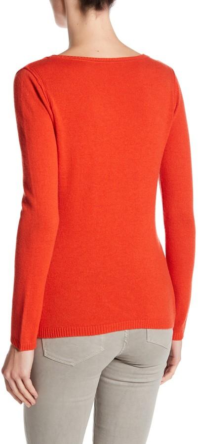 In Cashmere Cashmere Open-Stitch Pullover Sweater 33