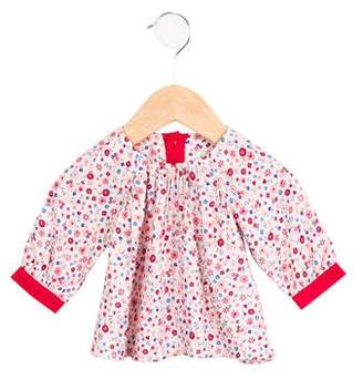 Paul Smith Girls' Floral Flared Top