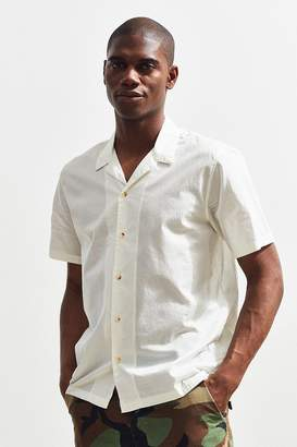 Urban Outfitters Camp Collar Short Sleeve Button-Down Shirt