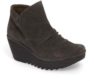 Fly London 'Yip' Wedge Bootie