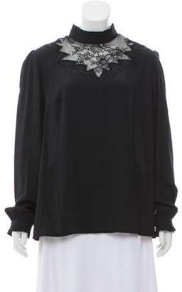 Paul & Joe Silk Long Sleeve Top