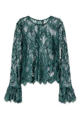 H&M Lace Blouse