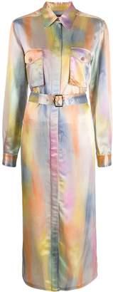Sies Marjan belted shirt midi dress