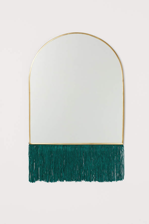 H&M Mirror with Fringe