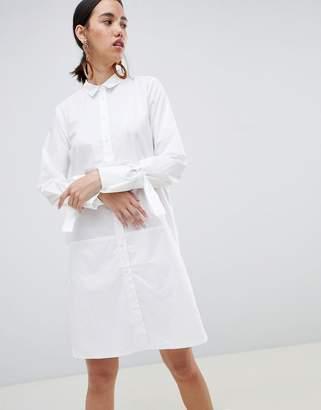 InWear Saia Longline Shirt With Tie Sleeve