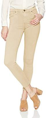 AG Adriano Goldschmied Women's Sateen Farrah HIGH Rise Skinny Ankle