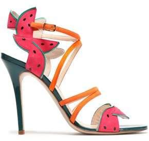 Camilla Elphick Embellished Suede Sandals