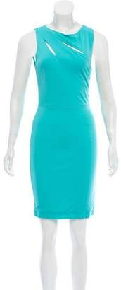 Yigal Azrouel Cut25 by Fitted Mini Dress