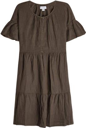 Velvet Noor Linen Dress